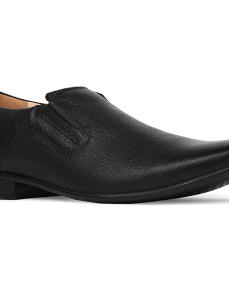 3BATA Black Formal Shoes For Men_02 (1)