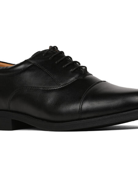 5BATA Black Formal Shoes For Men_01