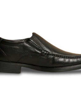 HUSH PUPPIES Black Formal Shoes For Men_01 (1)
