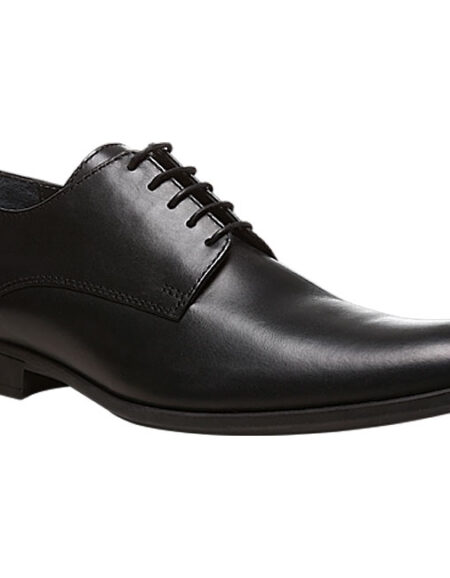 HUSH PUPPIES Black Formal Shoes For Men_01