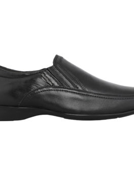 HUSH PUPPIES Black Formal Shoes For Men_02 (1)