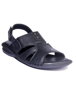 KHADIM_S-BLACK-CASUAL-STRAP_ON-SANDAL_01