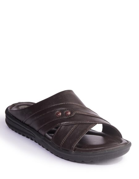 KHADIM_S BROWN CASUAL SLIP_ON SANDAL_01 (1)