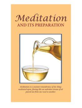 meditation and preparation