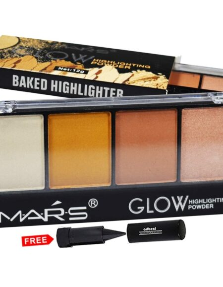 Mars Glow Highlighter Powder Palette