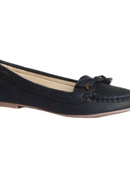BATA Blue Ballerinas For Women