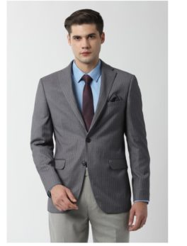 Peter England Grey Blazer
