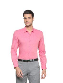 Peter England Pink Shirt