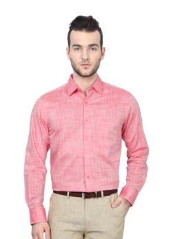 Peter England Red Shirt
