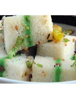 Sandwich-Dhokla