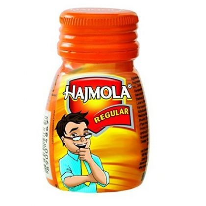 Dabur India Ayurvedic Hajmola Regular 120 Tablets (Pack of 6)