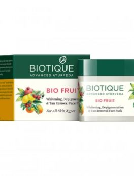 BIO FRUIT WHITENING FACE PACK 75GM