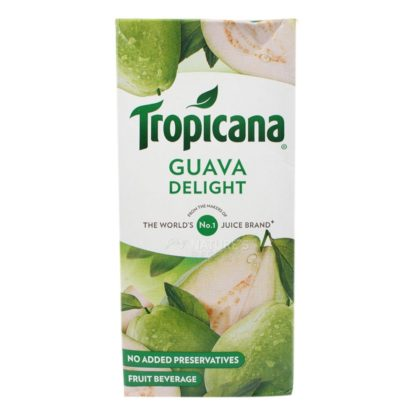 Tropicana Juice – Slice Fruit Drink,Guava 1L