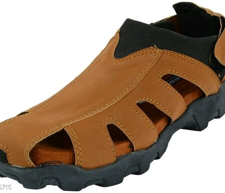 Men's Trendy Synthetic Leather Sandals