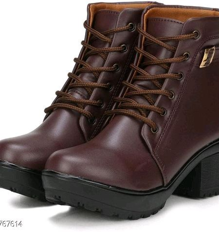 Trendy Synthetic Women's Boots Muzaffarpurshop