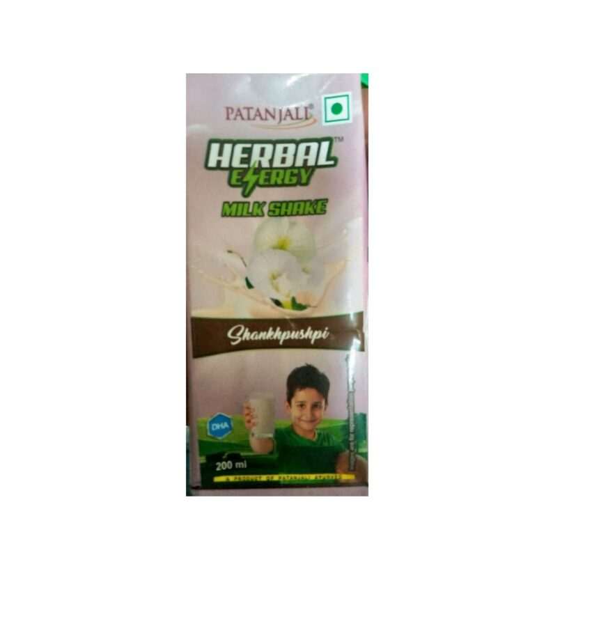 PATANJALI herbal milk shake
